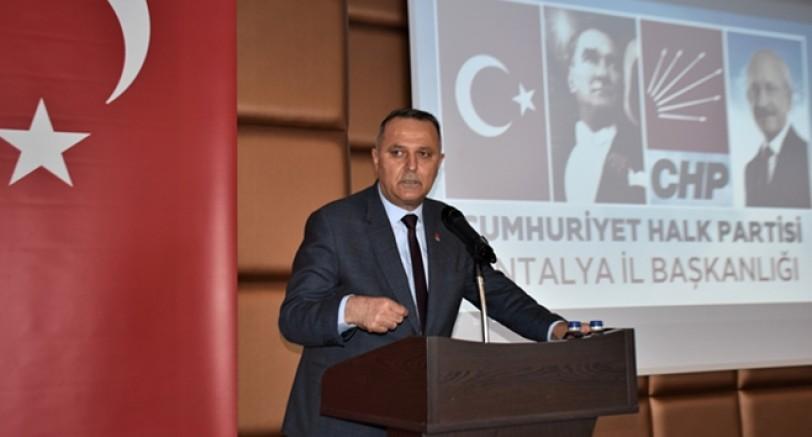 Antalya'da binlerce kamyon kum satmışlar! CHP'li Bayar: AKP'nin talanı son sürat