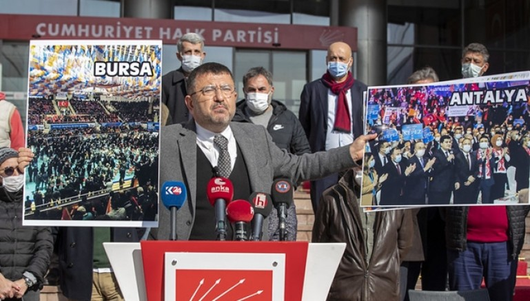 CHP'li Ağbaba: Virüs mutasyon geçirdi, mutasyondan sonra AKP'li oldu