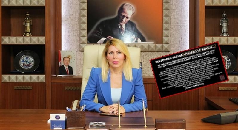 Gazeteci Gündoğdu isyan etti! Antalya'da Rektörden basına ambargo ve sansür