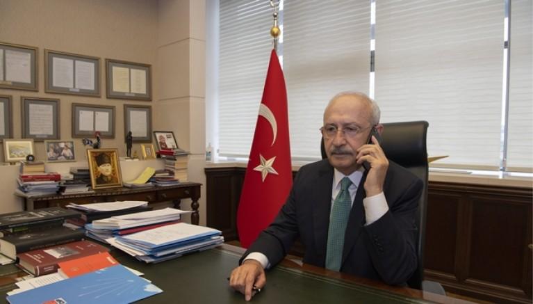 Kılıçdaroğlu, Sakine Akdağ'ın ailesini telefonla aradı